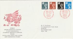 Juste 28 Nov 1989 Les 4 Pays De Galles De Valeurs Limites Royal Mail First Day Cover Bureau Shs-afficher Le Titre D'origine DéLicieux Dans Le GoûT