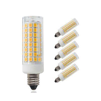 Pack Of 5 E11 Led Bulb Dimmable Mini Candelabra Base 75w 100w Equivalent H 710280676078 Ebay