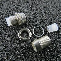 10x Led Screws Socket Screw For 5mm Leds Chrome Holder Led Screw Sockets