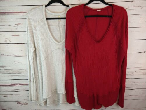 Lot Of Two Womens Free People Tops Shirts Tunics T