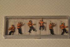 Preiser 10485 Feuerwehrmänner H0 moderner Anzug