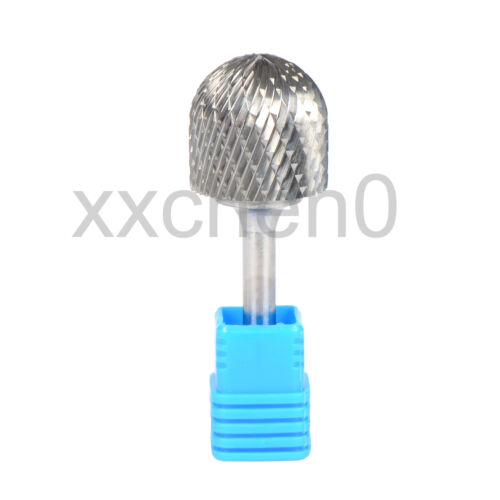 Radius Cylinder End Carbide Rotary Drill Burr 6MM Shank 25MM Cutting Dia Tools