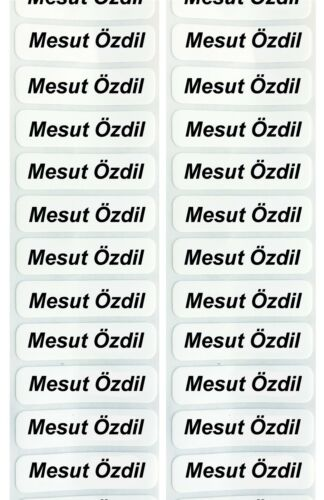96 Iron on name labels Personalized For school uniform clothing Girls Boys