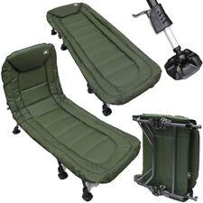 CH08 Solar Bedchair NEW SP Range Flat Bed 6 Leg Carp Fishing
