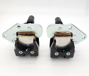 New Front Left Right Brake Calipers Kawasaki Prairie 400 KVF400 With Pads 97-02