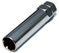 6 Spline Wheels Rim Lock Lug Nuts Chrome Replacement Key 1.5 1.25 1/2 7/16
