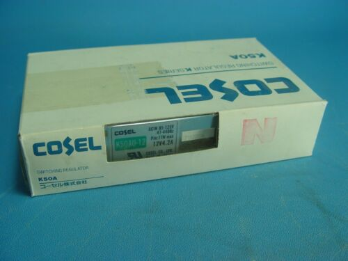 Cosel K50AU-12 power supply 12V 4.2A 77W New In Box Free Shipping