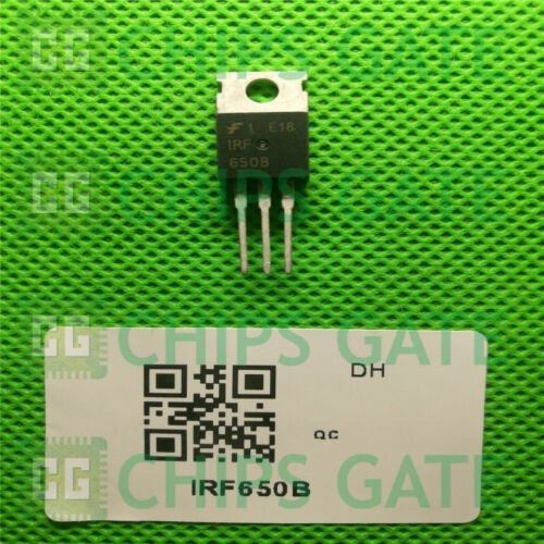 15PCS IRF650B 200V N-Channel MOSFET TO-220