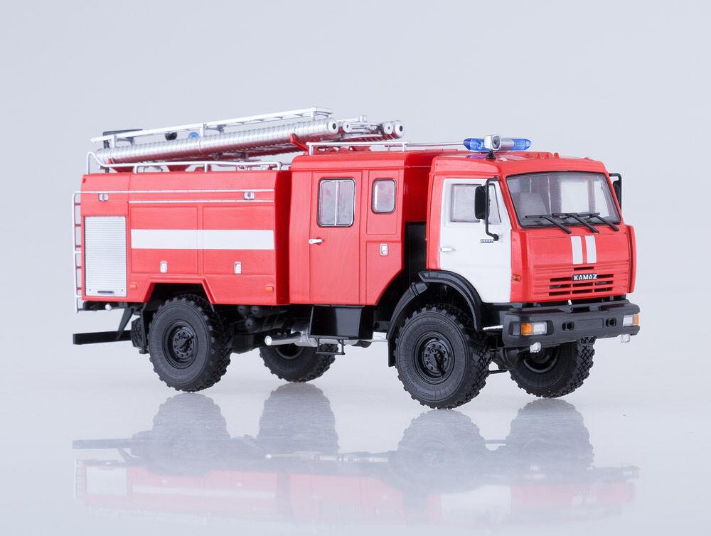 Kamaz 43502 AC-3, 2-40 camion de  pompiers concessionnaire modèle KAMAZ Laval 102002 1 43  réductions et plus