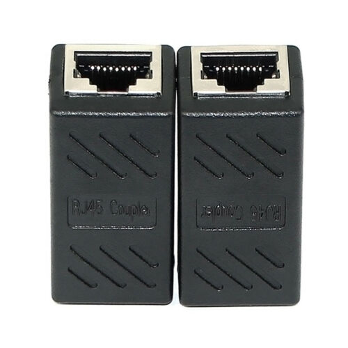RJ45 Female To Female CAT6 Network Ethernet LAN Connector Adapter Couple FaFBER