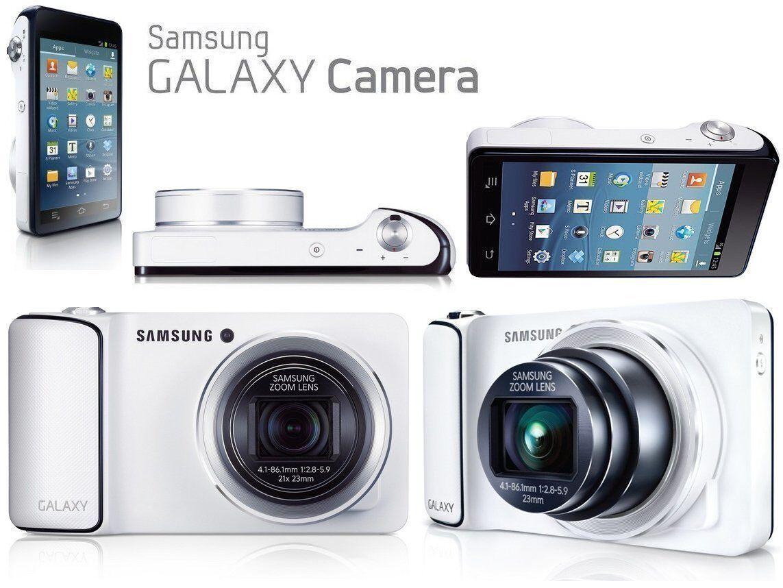 849f95d724bb3 Samsung Galaxy Camera Galaxy Camera 16.3MP Digital Camera - White ...