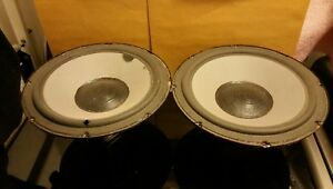 Pair-of-Vintage-10-034-Audioanalyst-woofers-from-the-100A-model-Tested-good