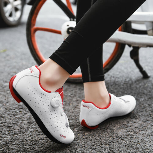Details about  /Ultralight Bicycle Sneakers Men Bike Clip-in Cycling Shoes SPD-SL Peloton Cleats
