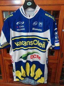 Men's Vacansoleil DCM Cyclisme Haut en jersey neuf 44 in (environ 111.76 cm) XXXL.