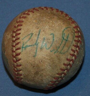 100% Wahr Minor League Baseball 1994 Harrisburg Milb Senators Unterzeichnet Signiert Ball GüNstige VerkäUfe Weitere Ballsportarten Fanartikel