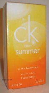 CALVIN KLEIN CK ONE SUMMER 2010 UNISEX PERFUME EDT 100 ML SPRAY 3.4 ... 0f3db8f96d