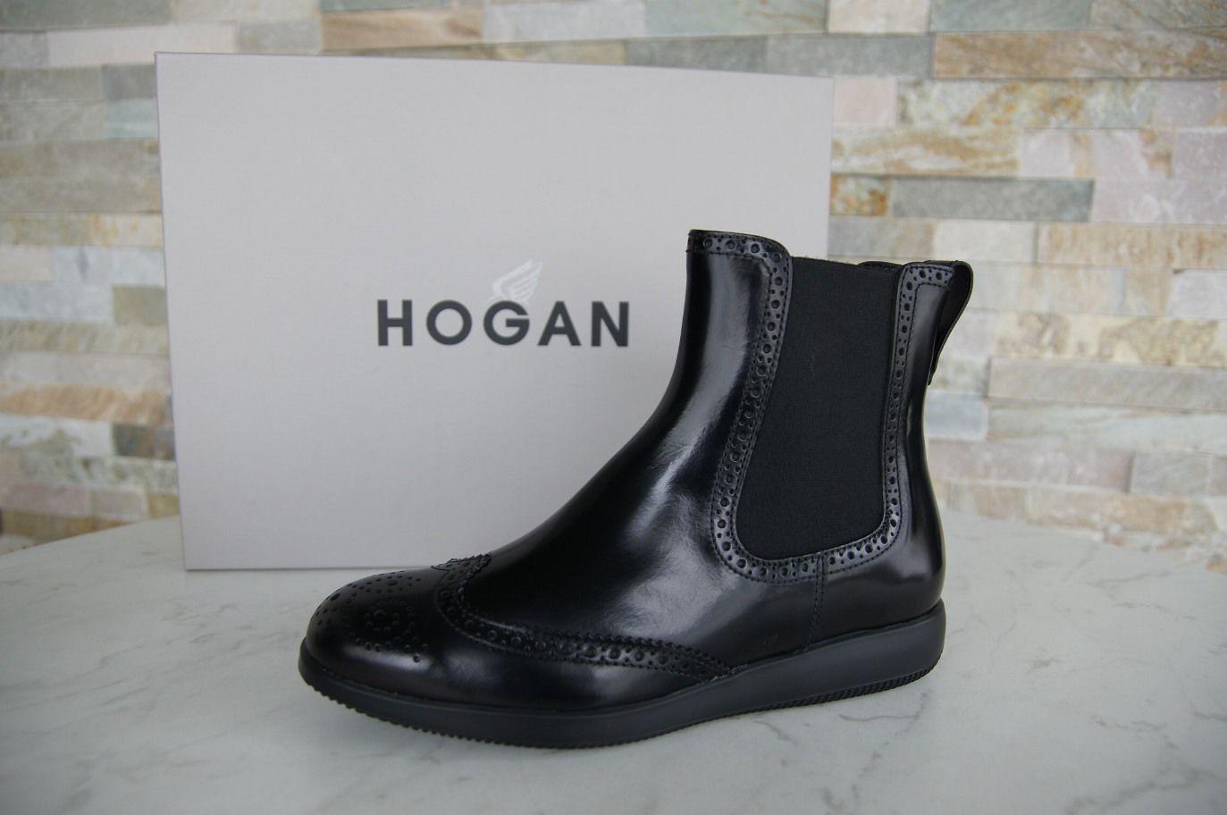 la migliore offerta del negozio online Hogan Tg. 36,5 Stivaletti Babbuccie Babbuccie Babbuccie Budapest Scarpe Nere Nuovo Origin.  promozioni di squadra