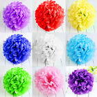 "DIY 10""Wedding Party's Home Outdoor Decor Tissue Paper Pom Poms Flower Balls 1Pc"