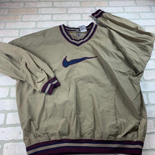 Vintage Nike Air Mens 2XL Windbreaker Pullover Bro