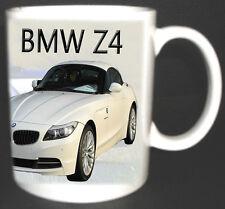 BMW Z4 CLASSIC CAR MUG.LIMITED EDITION.BNIB. ADD YOUR REG NUMBER FREE OF CHARGE