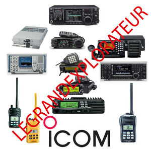 Details about Ultimate ICOM Repair Service manual 415 PDF manuals on DVD