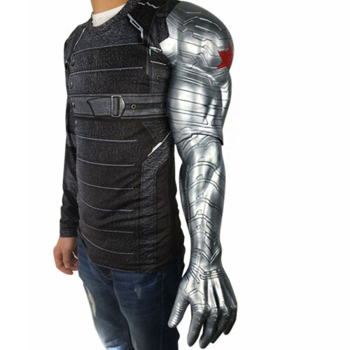 Captain America 3 Civil War Winter Soldier Bucky Barnes Armor Arm Cosplay Prop