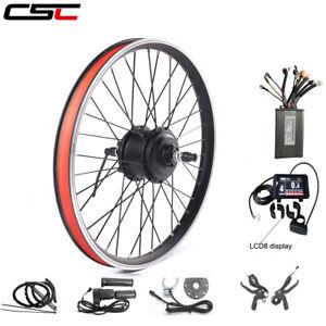 36V Ebike Kit Front Rear Wheel Conversion Kit 250W 350W 500W Mountain MTX Motor