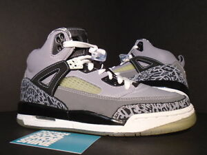 finest selection 444ac 02af1 Image is loading 2008-Nike-Air-Jordan-SPIZIKE-GS-COOL-GREY-