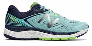 New-Balance-Women-039-s-860V8-Shoes-Blue-With-Navy-amp-Green