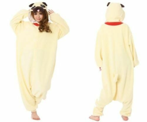 Original Animals Pug Cosplay Costumes Kigurumi Pajama Japan