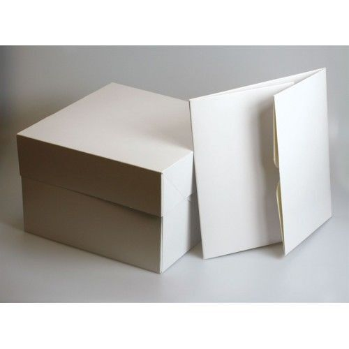 "6 /&12 hold Cupcake Boxes White Cake Boxes with Lid 8/"",10,12,14 /& 16/"" inch and 4"