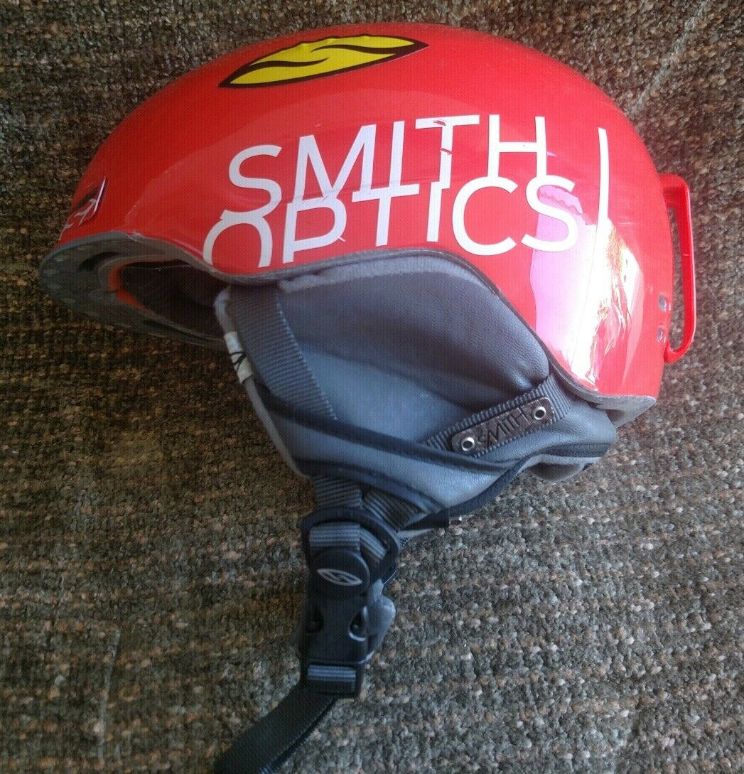 Smith Optic Maze orange Ski Snowboard Helmet Size Extra Small 52-54 Cm