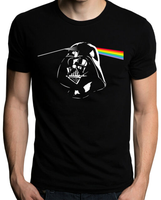 Funny Pink Floyd Dark Side The Moon Darth Vader Star Wars T-Shirt S M L XL XXL