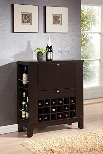 Wenge Finish Acme 97010 Nelson Wine Bar