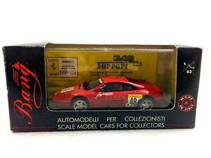 #8007 BANG FERRARI 348 tb Challenge 1990 RED Pininfarina Berlinetta 1/43 #412A