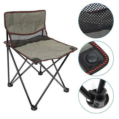 Small Folding Chair Stool Portable Outdoor Fishing Camping Travel BBQ Seat