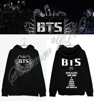 Bangtan Boys Kpop BTS Unisex Hoodie Jungkook Jimin Jin V Suga New Loose Jacket