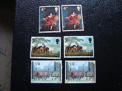 Vereinigtes Königreich Briefmarke Yt N° 491 A 493 X2 N A9 Stamp Königreich-r Stabile Konstruktion Europa Großbritannien