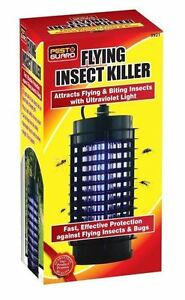 SincèRe Indoor Uv Insectes Volants Killer Electric Electronic Mosquito Pest Fly Bug Zapper-afficher Le Titre D'origine Un RemèDe Souverain Indispensable Pour La Maison