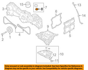 image is loading subaru-oem-03-16-forester-valve-cover-gasket-