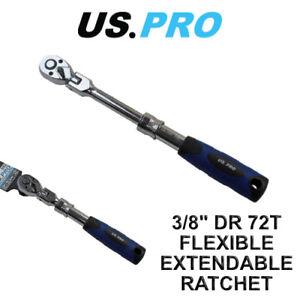 US-PRO-3-8-034-Flexi-Flessibile-Estendibile-Cricchetto-Presa-72t-5162