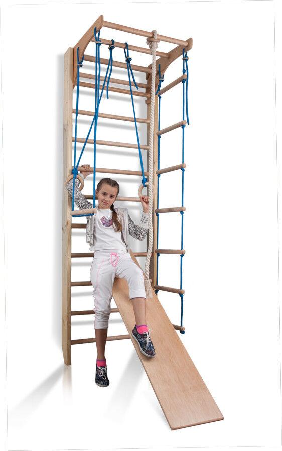 Espalier suédois Échelle suédoise De sport Bois Terrain de jeu pour les enfants