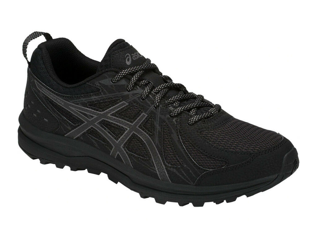 [ASICS] FREQUENT TRAIL (4E) Black Print Men's Trail Running Shoes 1011A138.001