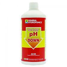 GHE PH DOWN 500ml PH- regolatore con stabilizzatore di calcio