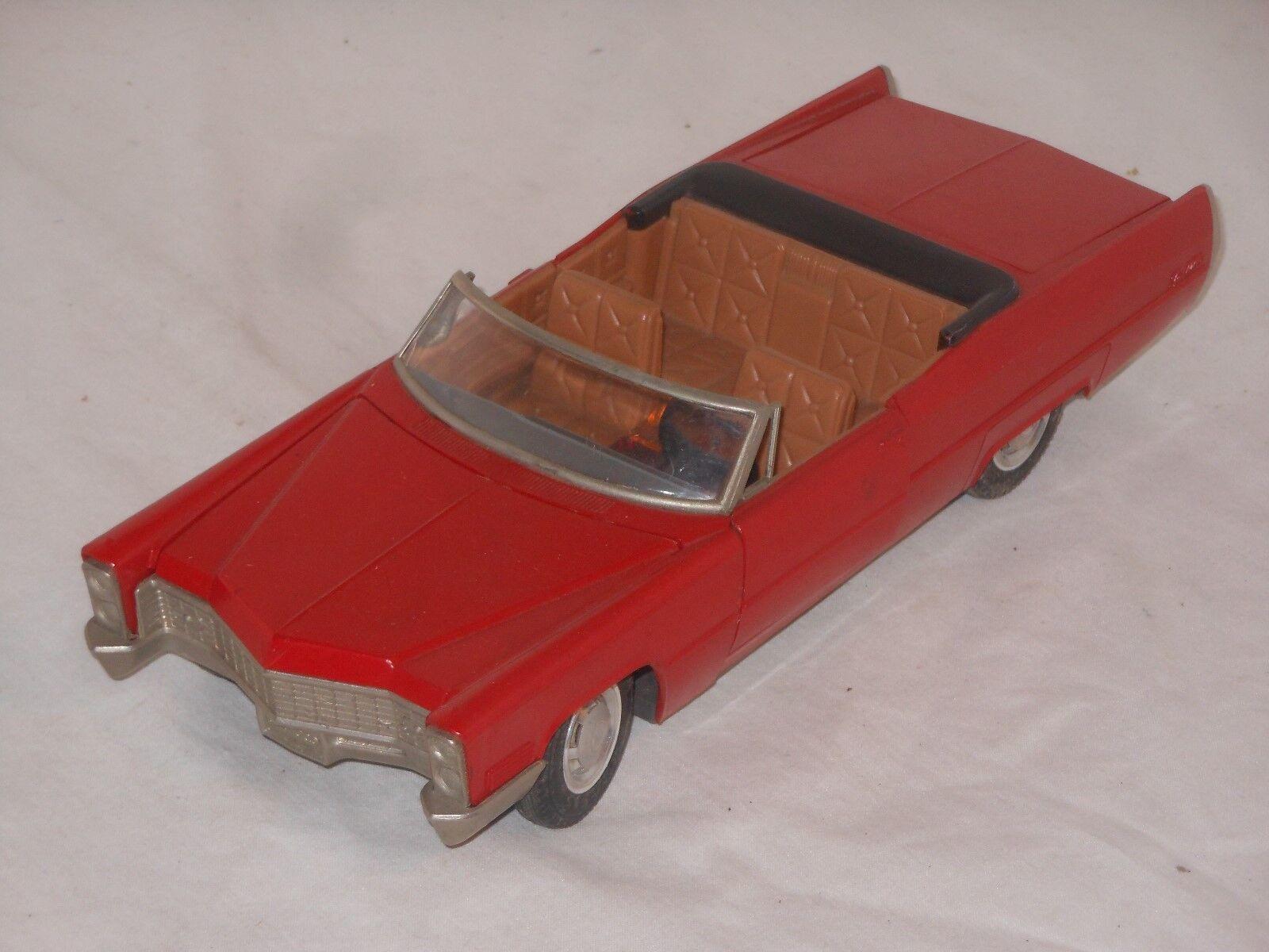 SCHUCO - VINTAGE TOY CAR - CADILLAC DE - VILLE - 5505 - DE 1968 - 20/3 d10e69