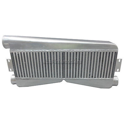 CXRacing Universal Twin Turbo Intercooler 2-In 1-Out 27x12.5x3.5