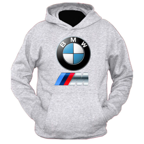 BMW M POWER NEW Men/'s HOODIE FRUIT OF THE LOOM PRINT BY EPSON S-XXL