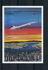 Nevis 1998 MNH Concorde 1v S/S Aviation Airplanes Jet Planes G-BOAA Stamps