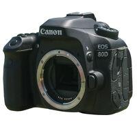 Canon EOS 80D 24.2MP Full HD 1080p Digital SLR Camera Body (Black)