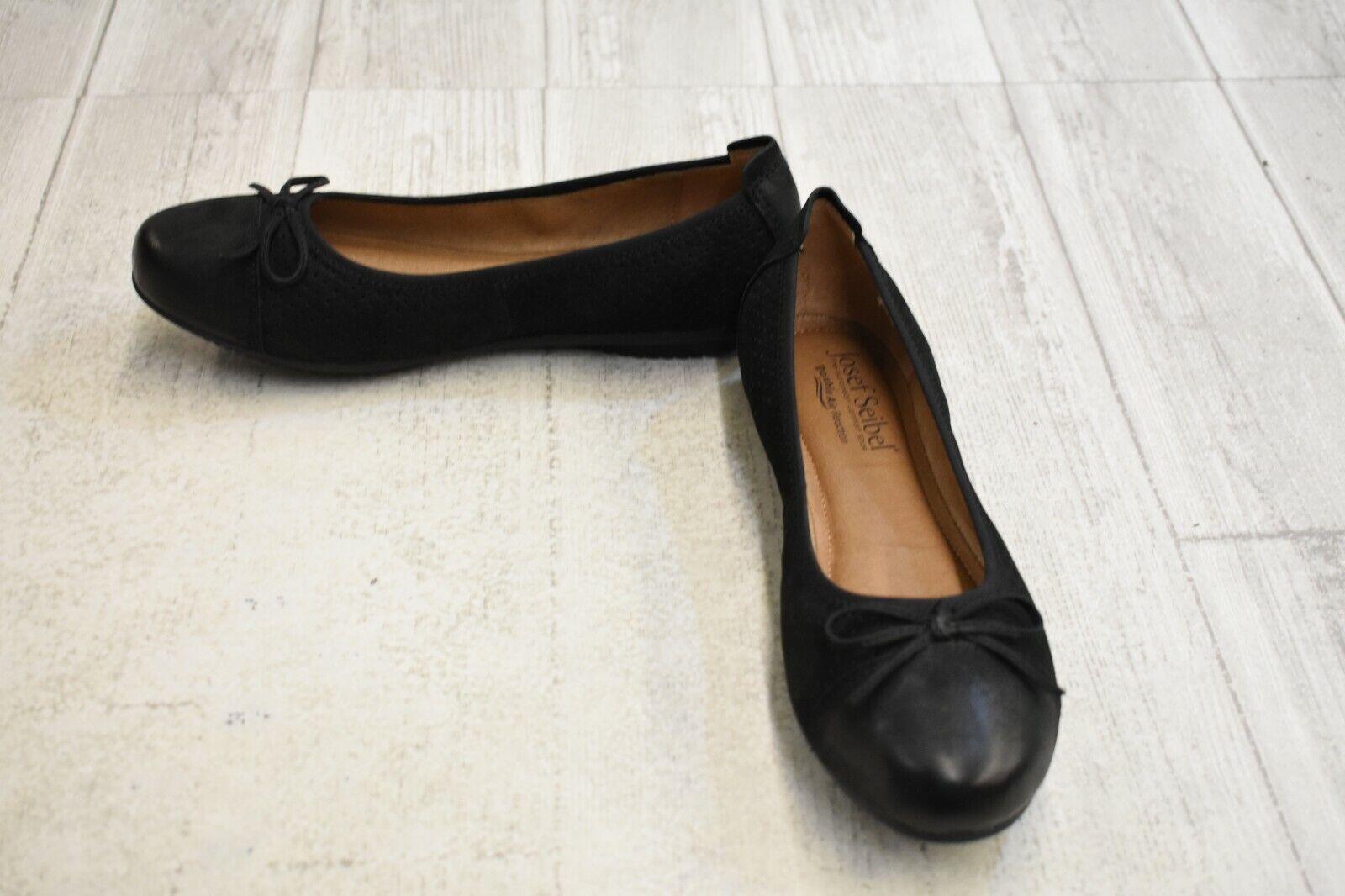 Josef Seibel Pippa plat 53-Femme Taille 6.5 - noir